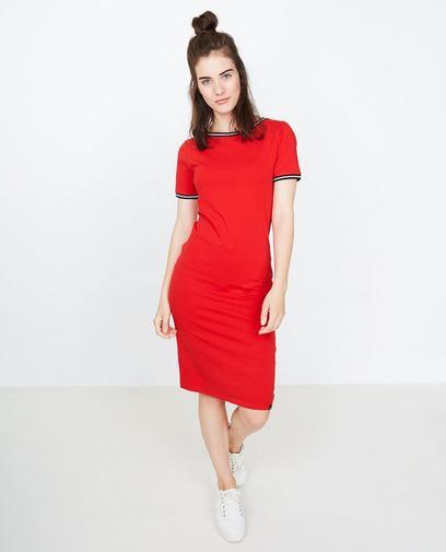 Vuurrode jurk